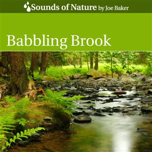 Babbling Brook CD Cover by The Sounds of Nature by Joe Baker