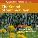 The Sound of Summer Rain CD Cover by The Sounds of Nature by Joe Baker