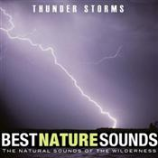 Best Nature Sounds Thunder Storms CD Cover