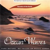 Sounds of the Earth Ocean Waves CD Cover. Listen to the timeless sound of the ocean waves rolling in...